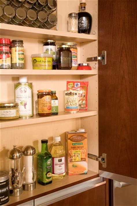 Built In Spice Rack by Built In Spice Rack And Pantry Portfolio Interior
