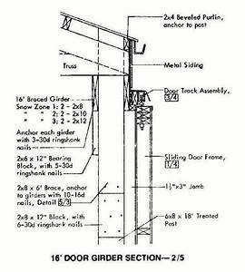 30×72 Pole Machine Shed Plans & Blueprints For Industrial