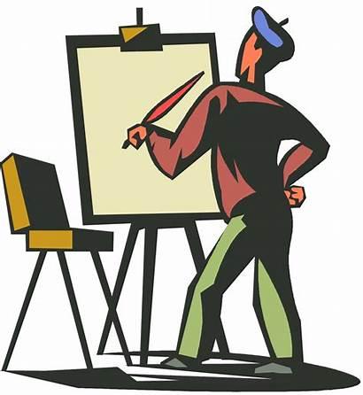 Artist Painter Clipground Artists Aplin Roy Cartoon