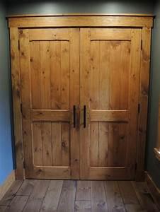 Porte Interieur En Bois : porte int rieur en pin atelier meuble rustique ~ Dailycaller-alerts.com Idées de Décoration