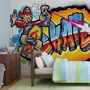 Graffiti Skate WALL MURAL PHOTO WALLPAPER (3052DK) eBay