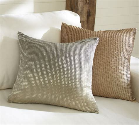 Beaded Ombre Pillow Cover Pottery Barn Living Room by Beaded Ombre Pillow Cover Pottery Barn Living Room