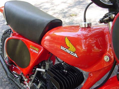 restored vintage motocross bikes for sale 1976 honda cr125 elsinore restored vintage motocross bike