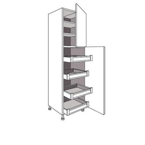 colonne de cuisine colonne de cuisine avec 4 tiroirs et 2 tablettes twist