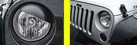 jeep angry headlights angry eyes jeep headlight covers jeep half moon