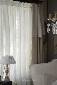 Rideau Dentelle Romantique : le grenier d 39 alice ~ Teatrodelosmanantiales.com Idées de Décoration