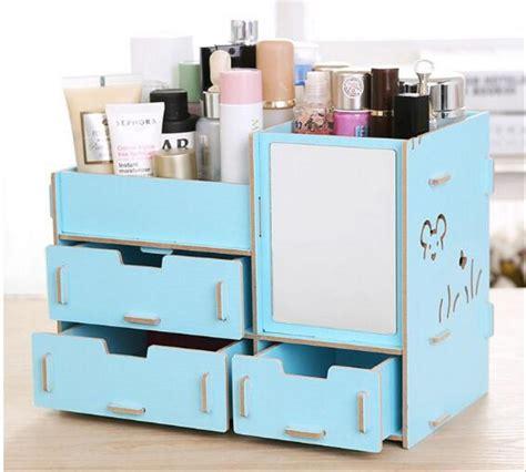 Rak Kosmetik Keropi jual r57 rak kosmetik bahan kayu cermin r57 desktop