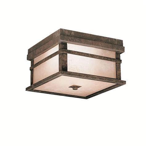 japanese style flush mount outdoor light outdoor lights