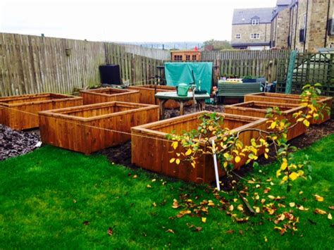 wooden garden products wooden garden planters 13 slat e timber products