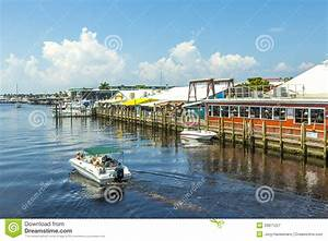 Old City Dock In Tropical Naples Editorial Photography ...