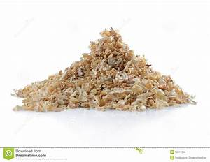 Pile Of Natural Sawdust Royalty Free Stock Photos - Image