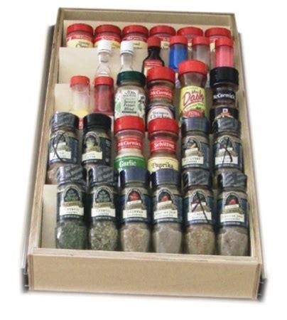 spice block drawer insert