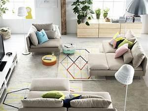 Deco Salon Ikea : 32 ambiances du catalogue ikea 2015 ~ Teatrodelosmanantiales.com Idées de Décoration
