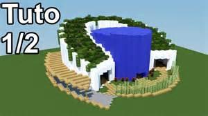 minecraft tuto maison moderne v 233 g 233 talis 233 e 1 2