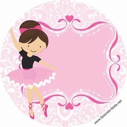 Ballerina Bar Clipart Candy Labels Printable Bailarina
