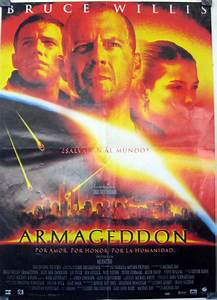 """ARMAGEDDON"" MOVIE POSTER - ""ARMAGEDDON"" MOVIE POSTER"