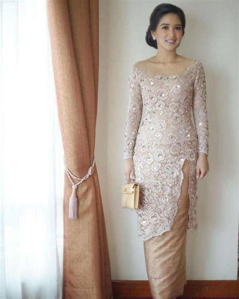 Check out pesta on ebay. 12 Ide Model Tunik Brokat untuk Momen Lamaran. Sopan ...
