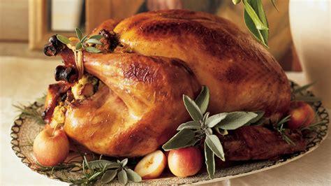 classic brined  roasted turkey