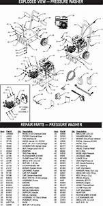 Generac Pressure Washer Model 1132