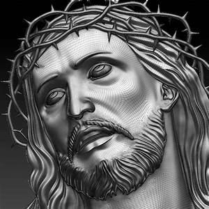 Christ 3D Relief | Design Makerspace
