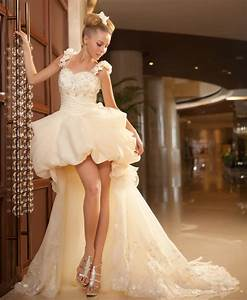 free shipping sexy sweetheart neckline straps front short With short long wedding dresses