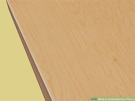 how to install bamboo flooring on concrete how to install bamboo floors with pictures wikihow