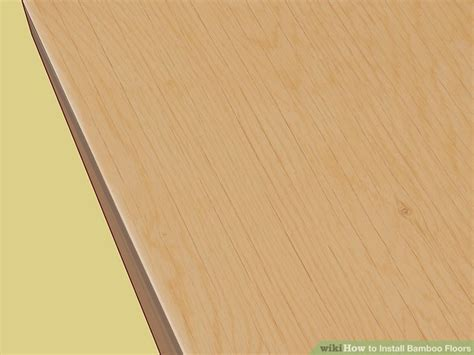 How to Install Bamboo Floors (with Pictures)   wikiHow