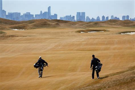 trump golf bronx course links luxury ferry point york bridge dump whitestone run opens courses opening times most former fees
