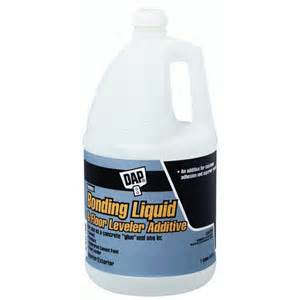liquid floor leveler concrete dap products 35090 bonding liquid and floor leveler