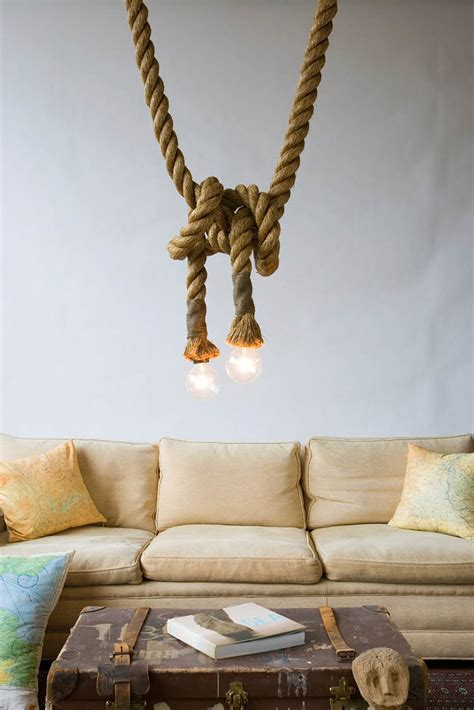 elegant rope decor hinting towards nautical inspiration