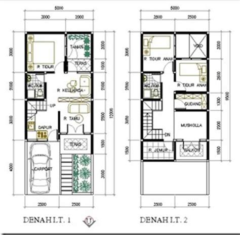 membuat desain rumah  autocad  rumah xy