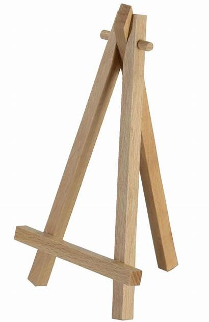 Easel Wood Wooden Natural Tripod Easels Display