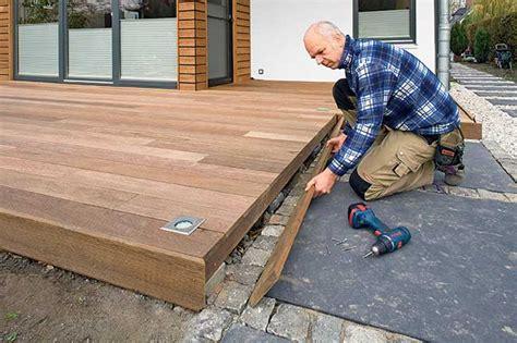 pedana legno giardino pedana in legno per esterni installazione e scelta