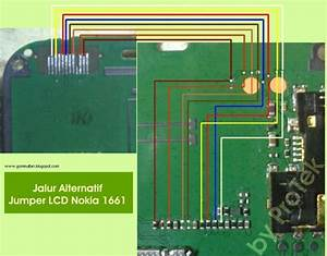 Nokia 1661 Display Lcd Problem Solution Jumper Ways