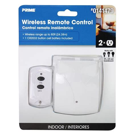 remote light switch lowes shop prime white remote at lowes