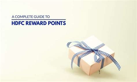 Maybe you would like to learn more about one of these? HDFC Credit Card Reward Points - A Complete Guide 2020