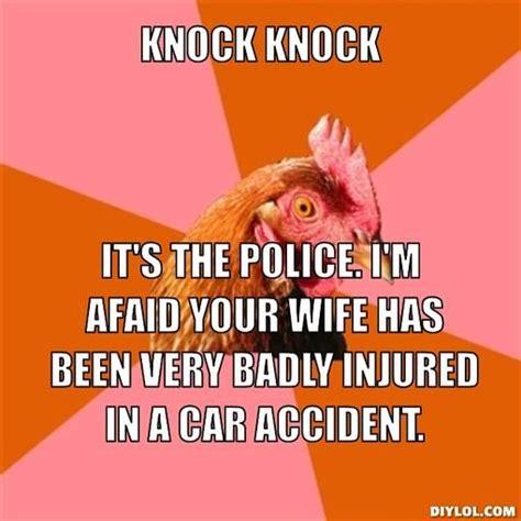 Anti Joke Chicken Meme Generator - anti joke chicken sally
