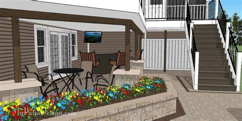 custom  patio design designing patios  love