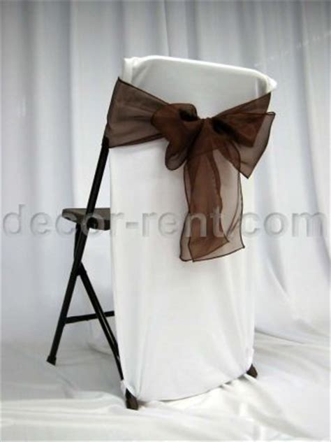 decor rent folding chair back cover white with