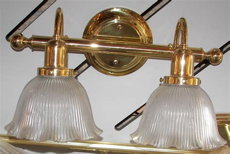 polished brass bathroom lighting fixtures sophisticated
