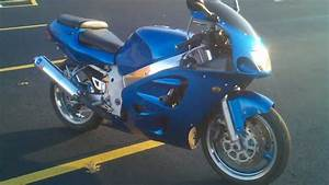 2000 Gsxr 600 With D U0026d Exhaust Walk Around And Reving