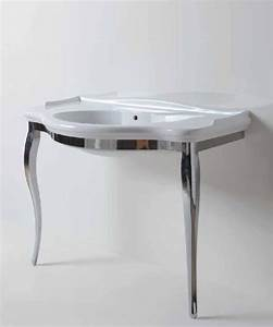 Waschtisch Mit Unterschrank 110 Cm : giunone nostalgie waschtisch 110 cm mit chrom metallgestell ~ Bigdaddyawards.com Haus und Dekorationen