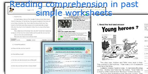 Reading Comprehension Past Simple Pdf  1000 Images About Present Simple On Pinterest Presents