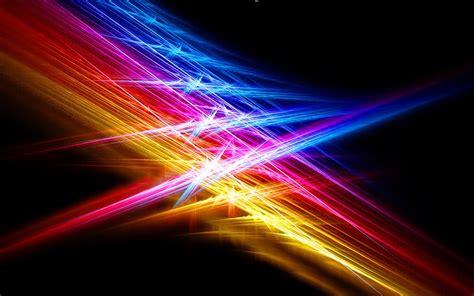 download wallpaper 1680x1050 line color light beams hd