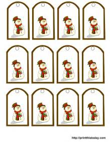 Free Printable Christmas Gift Tags Templates