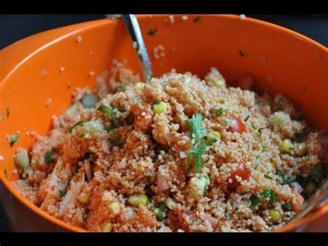 foret hervé cuisine recette du taboulé aux écrevisses par hervé cuisine