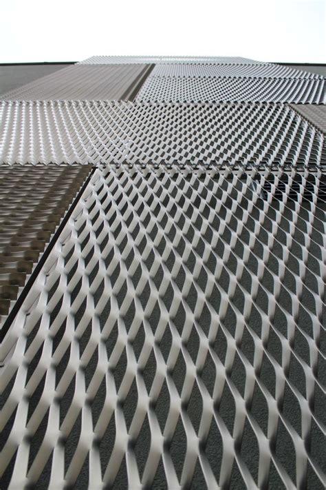 expanded metal perfo linea czech republic architecture