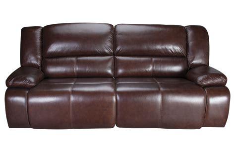 amarillo power reclining leather sofa  gardner white