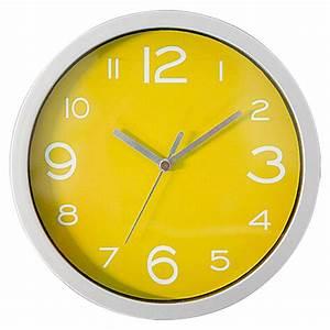 Wanduhr 40 Cm Durchmesser : wanduhr basic silber gelb durchmesser 20 cm bauhaus ~ Bigdaddyawards.com Haus und Dekorationen