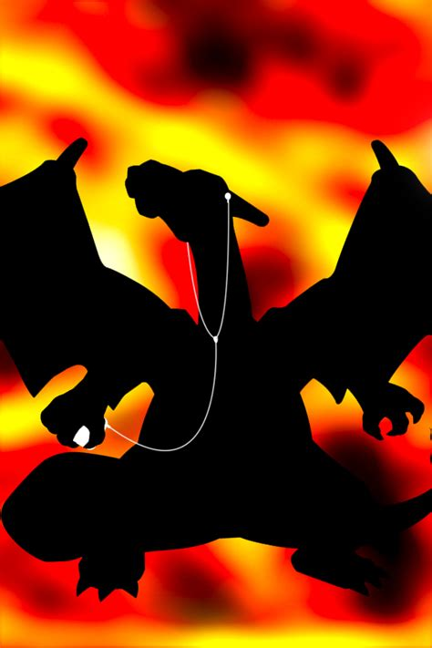 charizard iphone wallpaper by andrewf92 on deviantart